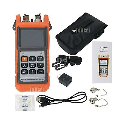 OTDR Optical Time Domain Reflectometer Optical Power Meter Red Light Source