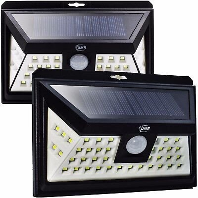44 LED Outdoor Motion Sensor Light | BRIGHT Solar Security Lighting Dusk to Dawn