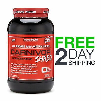 MuscleMeds Carnivor Shred Hydrolyzed Protein 2.28 lbs Powder Chocolate