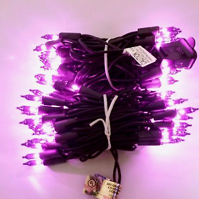 String Lights Purple Christmas Indoor Outdoor Party Halloween Holiday Wedding