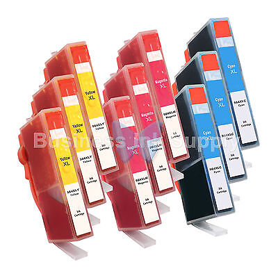 9 Color 564xl 564xl Generic W/chip High Yield + Ink Level...