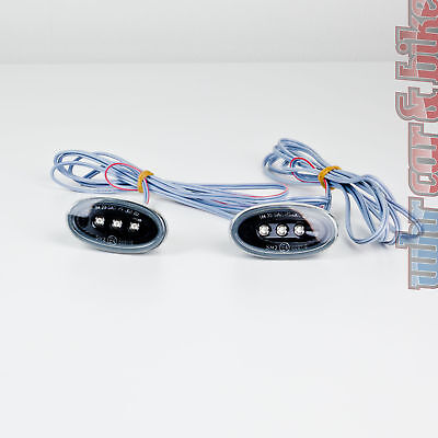 2 Stück Hella LED Seitenbegrenzungsleuchten SML schwarz Seitenleuchte