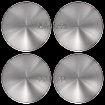 "16"" Set of 4 Solid Moon Wheel Covers Snap On Hub Caps fit R16 Tire & Steel Rim"