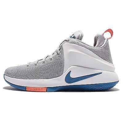abf19891cdb ... spain nike zoom witness ep lebron james grey blue mens basketball shoes  884277 004 5290e dfcd5