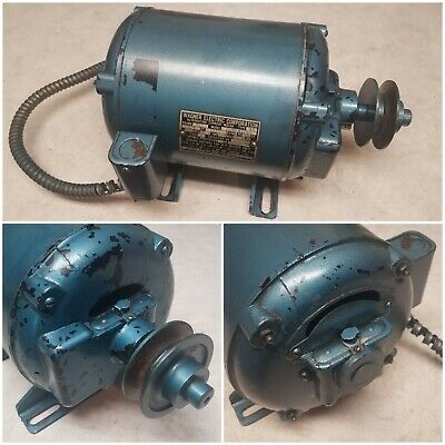 Vintage Wagner Electric 34 Hp Motor 1725 Rpm B505 K3252