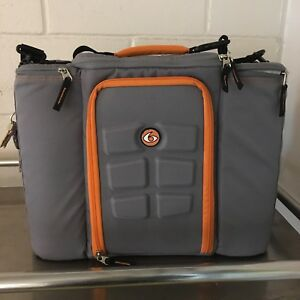 Insulated 6 pack meal prep bag