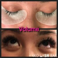 Eyelash extensions ( specialize in volume and classic