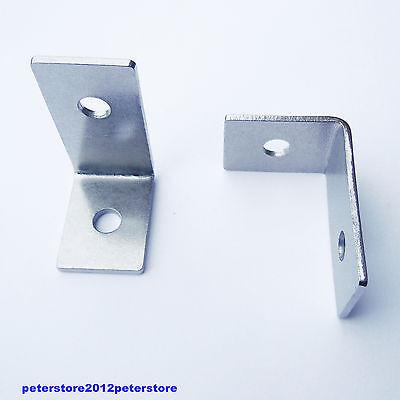 1 L-Winkel 60 X 42 X 30 X 3 Edelstahl A2 V2A Winkel Verbinder für Solar Montage