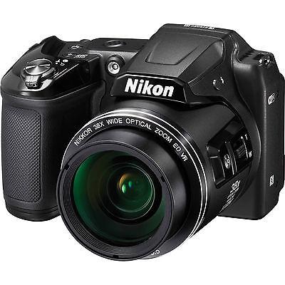 nikon l840 bridge camera  wifi  (black)