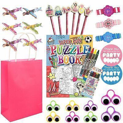 Kids Pre Filled Return Gifts Birthday Loot Party Gift Bags Fillers Toys Girls - Birthday Return Gifts