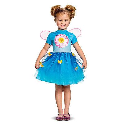 Abby Cadabby Halloween Costume (Girls Toddler Sesame Street Abby Cadabby Halloween Costume Light Up Dress)