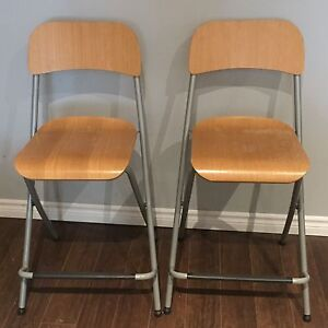 2 IKEA Folding Chairs