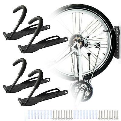 4 Unidad Soporte Bicicleta Gancho Fahrradhaken de Pared Suspensión