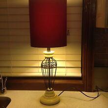 Wrought iron table lamp Kurrajong Hawkesbury Area Preview