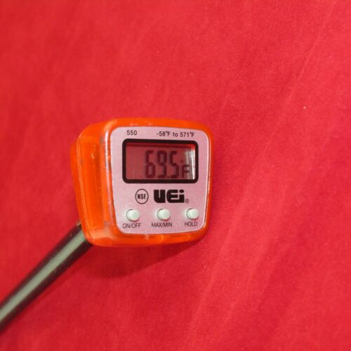 Uei Test Instruments 550 Digital Pocket Thermometer