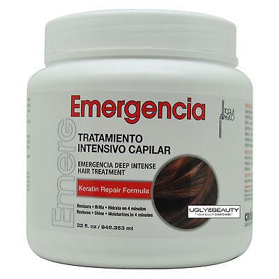Toque Magico Emergencia Deep Intensive Hair Treatment 32 Fl. Oz. / 946.353 ml Intensive Hair Repair