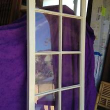 two sets french doors cedar painted white Woongarrah Wyong Area Preview