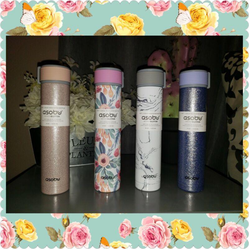 Asobu Skinny Insulated Bottle 8 oz New