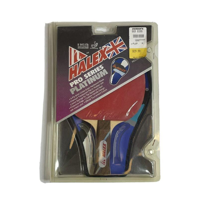 Halex Pro Series Platinum Ping Pong Paddle