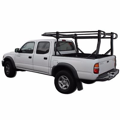 Adjustable Truck Contractor Ladder Rack w/30'' Over Cab Pickup Utility - Removable Ladder Rack