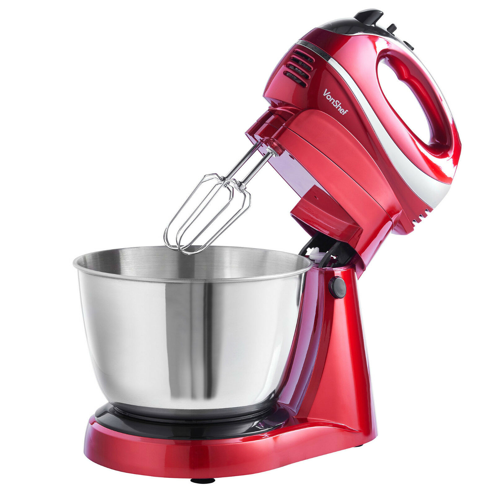 Hand Food Mixer ~ In hand stand mixer food processor blender cake bowl