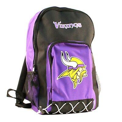 Minnesota Vikings Premium Rucksack Schwere Echo Bungee Design Fußball ()