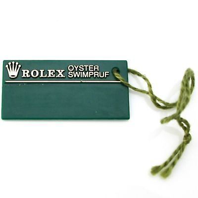 Vintage Green Tag Rolex Hang Tag Price Tag Serial Number President Daytona