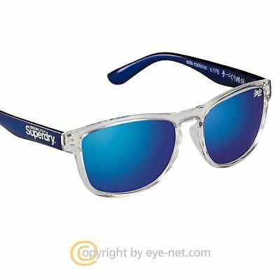 Superdry Rockstar Kunststoff Sonnenbrille SDS 175 Neu Unisex