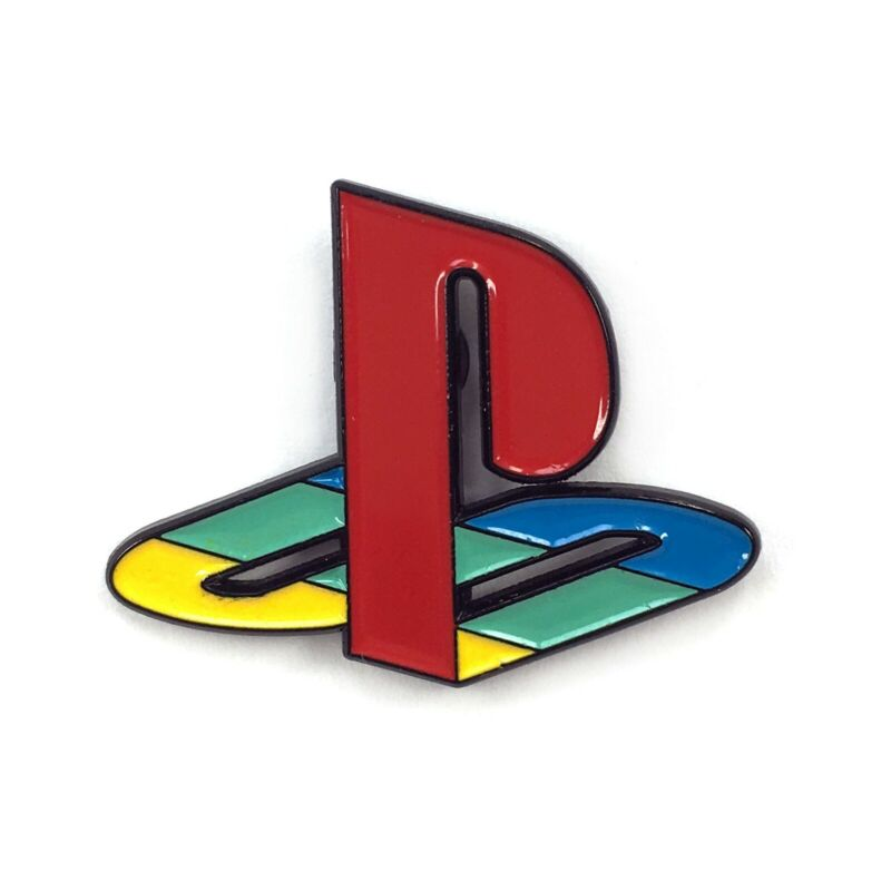 Playstation PS2 Video Game Console Enamel Pin Cartoon Heady Festival Hat Badge
