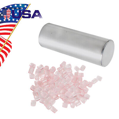 Us 5 Cans Box Large Dental Materials Denture Flexible Acrylic With Blood Streak
