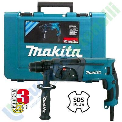 Taladro Martillo Perforador Demoledor Eléctrico Sds-Plus Makita 3 Funciones 780W