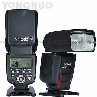 Yongnuo YN560 IV Flash Speedlite New Version for Olympus Canon Nikon Pentax