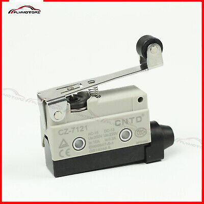 1 Pcs Heavy Duty 15a Micro Limit Switch Roller Lever Arm Spdt Snap Action Home
