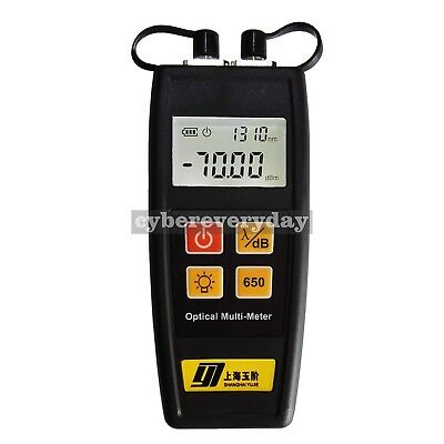 All In One Fiber Optical Power Meter 50mw Visual Fault Locator Yj-350c Mini Size