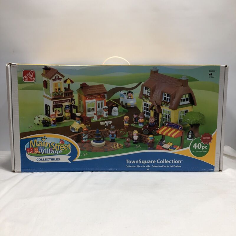 Main Street Village Collectables by Step 2, Town Square Collection, Model 873000