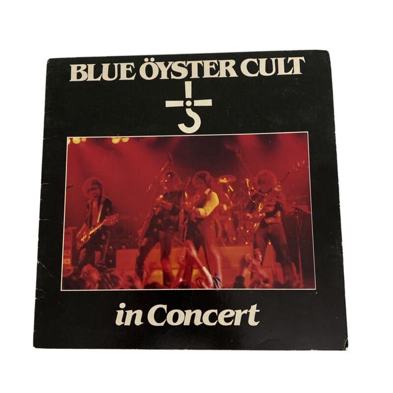 Vintage BLUE OYSTER CULT 1981 Concert Program Rock