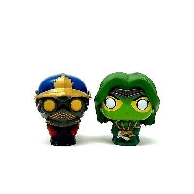 Gamora & Star-Lord Mini Figures from Funko Pop! Advent Calendar Marvel 80th GOTG
