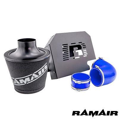 Ramair Ford Focus ST225 MK2 Group A Cone Blue Air Filter Kit and ECU Bracket Box