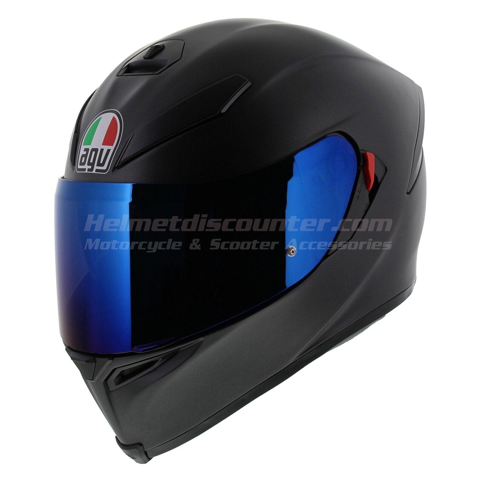 Agv K5 S Matt Black Full Face Helmet Free Maxvision Pinlock Free Shipping Ebay