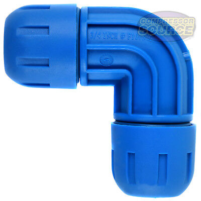 """1"""" Rapid Air FastPipe 90 Degree Elbow Fitting Compressed Air Piping F2003"""