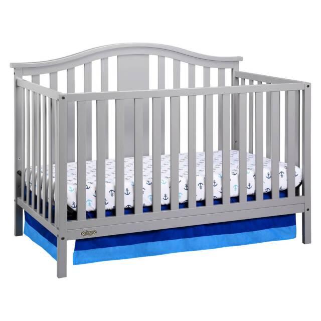 Gracou0026#174; Solano 4 In 1 Convertible Crib With Bonus Mattress