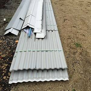 Corrugated Iron COLORBOND® Roofing Sheets - Surfmist Yarra Glen Yarra Ranges Preview
