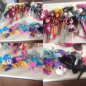 Monster high dolls, games, accessories Brighton-le-sands Rockdale Area Preview