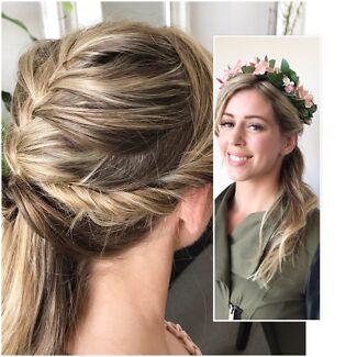 mobile hair make-up service, make-up lesson