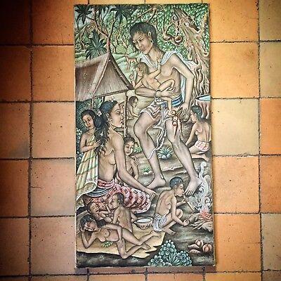 Bali Bild Indonesien Tempel Hindu Asia painting Art