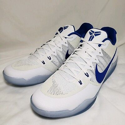 feb56614f6e8 Nike Kobe XI TB Promo Basketball Shoes Royal Blue White 856485-140 DUKE Size  18