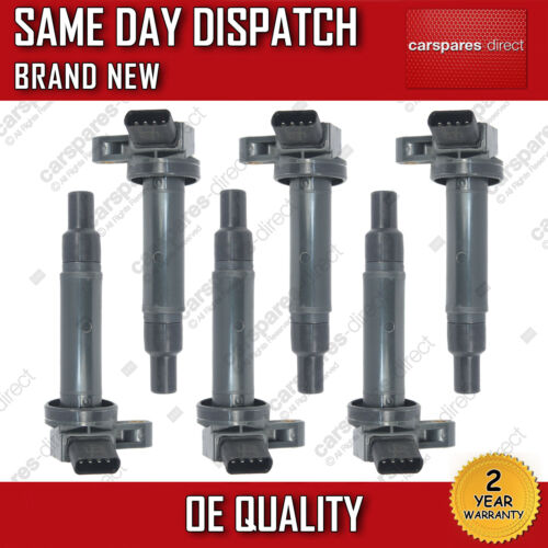 LEXUS IS200 IS300 SET OF 6x PENCIL IGNITION COIL PACK 1999>ON *NEW* 90080-19027