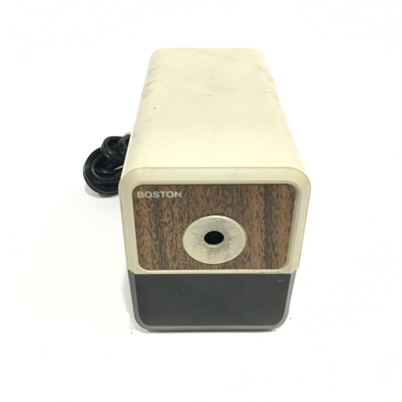 Boston Hunt Electric Pencil Sharpener Model 18 296A Made in USA