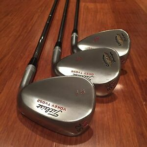 Titleist Vokey TVD wedges