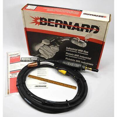 Briefly Used Bernard Industrial Mig Gun No. Q3015ae8xm Complete In Original Box